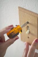 Refinish a plastic or wood switch plate by following a few simple steps.