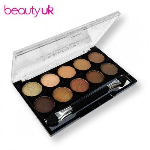 Beauty UK 7 Naked Eye Shadow Palette luomiväri, paletti 5,99 e