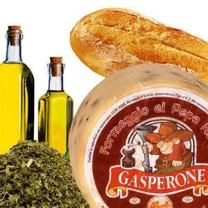 Antipasti di Gasperone al pepe. http://www.brunelli.it/ricette/antipasti-di-gasperone-al-pepe