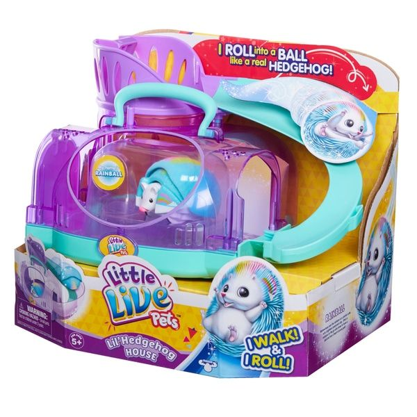 Little Live Pets Lil Hedgehog House Series 2 Little Live Pets Cool Toys For Girls Hedgehog Pet