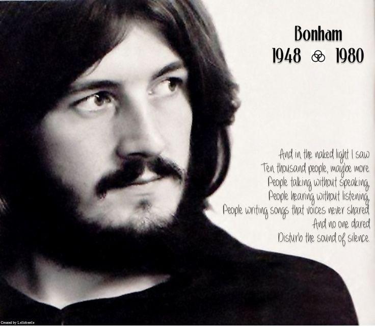 No one dared disturb the sound of silence. #John Bonham (Click for music)