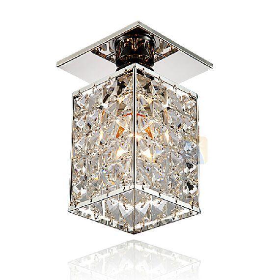 Mew modern LED crystal ceiling Light lamp aisle corridor lights foyer lights minimalist porch lighting luminaria teto via E-Passion Co., Ltd,. Click on the image to see more!