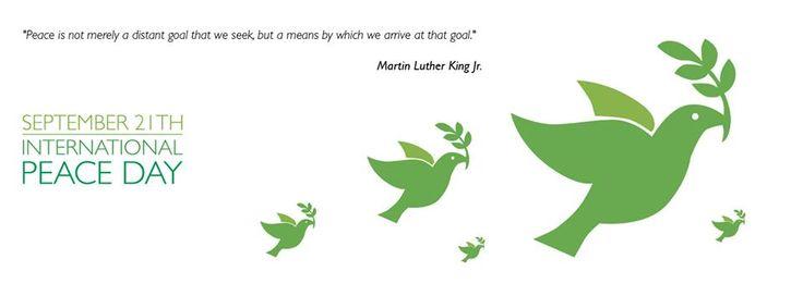21 de Septiembre: Día Internacional de la Paz / International Peace Day