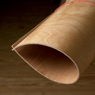 Sheet Goods Selector: Bendable Plywood