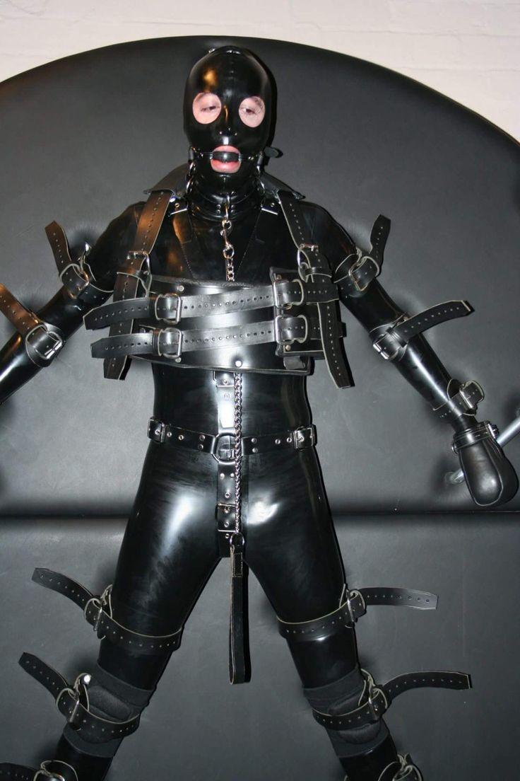 Leather Rubber Loving Bondage