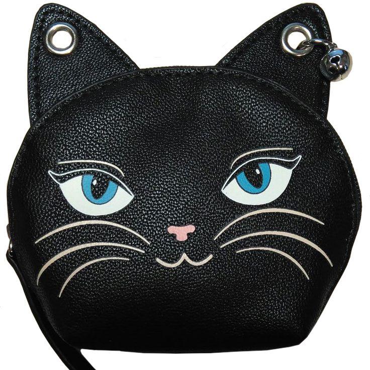 Monedero Feminine Feline de Banned #gato #cat #purse #accesorios #tienda #gotica #gothic #xtremonline