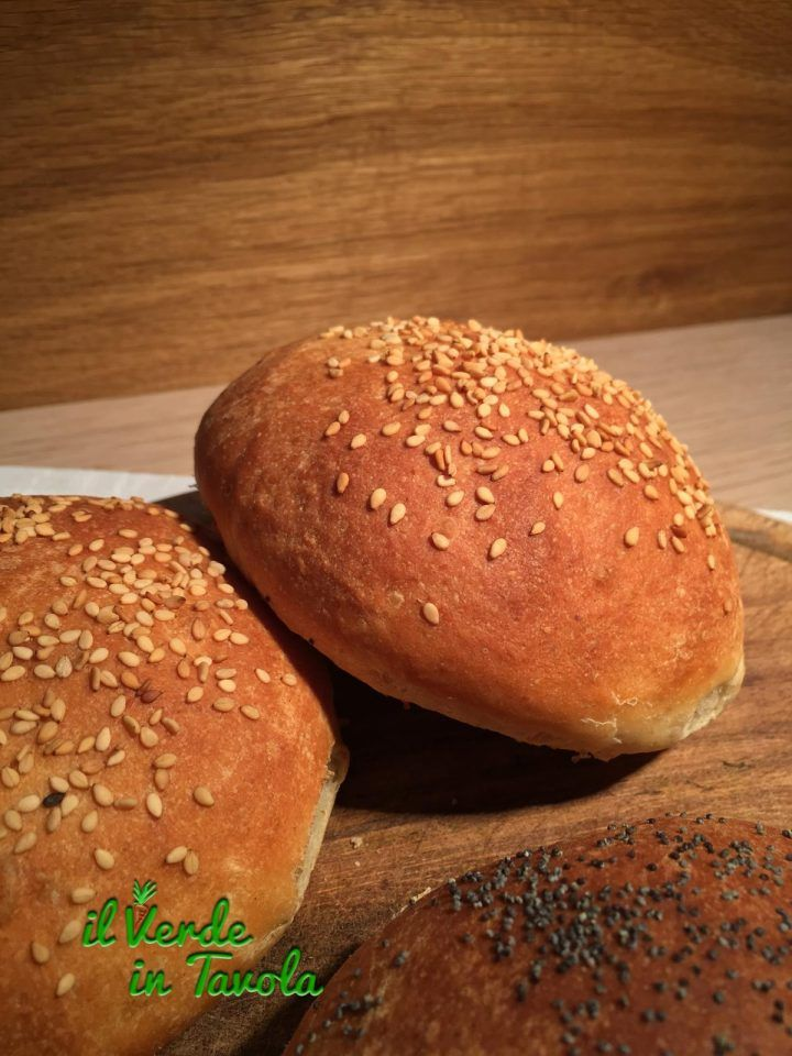 Panini vegani sofficissimi per burger | Il Verde In Tavola