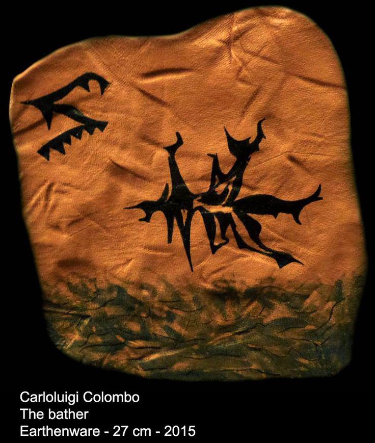 riolo terme, esorinist, ceramic, faenza,  colombo, carlo, Italy, Italian art
