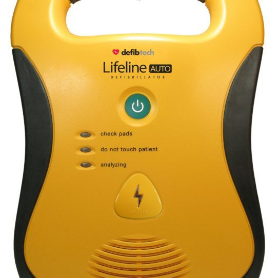 Defibtech Lifeline Auto AED – Fully Automatic Defibrillator | $2770  Buy the Defibtech Lifeline Auto AED for the special price of $2,770.00 and help to save a life! Defibtech Lifeline Auto AED is a fully automatic, simple-to-use AED with only 1 button and the only 7 year battery available in the world. The Lifeline AED is simple and intuitive. #LifepakDefibrillators #useofdefibrillator #cprdefibrillator #traveldefibrillator #cardiacarrestdefibrillator