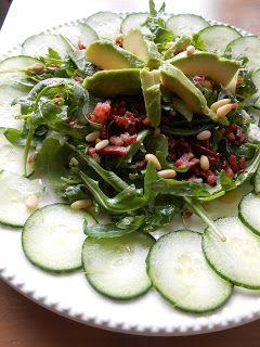 Low Carb - Grip op Koolhydraten: Rucola-Geitenkaas-Spek Salade