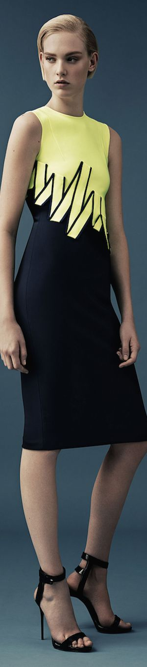 Mugler ● Resort 2015 women fashion outfit clothing style apparel @roressclothes closet ideas