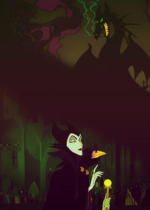 Disney Challenge Day 8: Favorite Villain ~ Maleficent