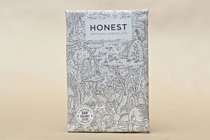 Nibs 60g Honest Chocolate Slab Beautiful packaging, hand illustrated, vegan, raw, refined sugar free, ethically sourced #capetown