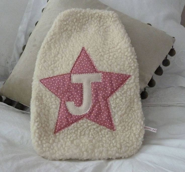 girl's star hot water bottle cover by jojo accessories | notonthehighstreet.com