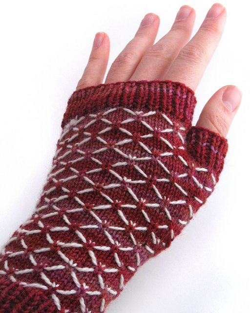 Knitting Quilted Lattice Stitch : Best images about free knitting patterns gloves