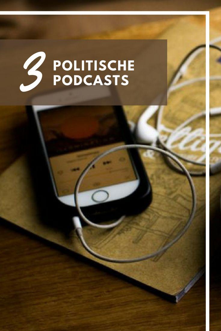 3 politische Podcasts - Wahlkabine, Stimmenfang, Jung & Naiv. #election #politics #podcast #information #news #blog #online #journal #smart