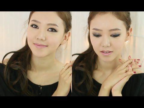 Simple Smokey Eyes ♥ 스모키 눈화장 - YouTube