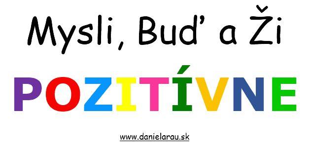 Pozitívne myslenie a Osobný rozvoj Archives | www. Daniela Rau .sk