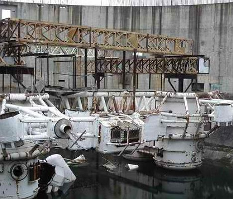 From Abyss: the world's largest underwater film set