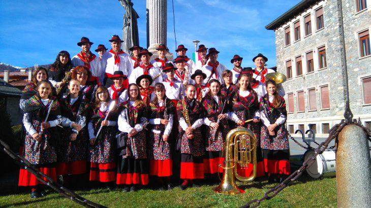 La Filarmonica Bormiese alla Commemorazione del 4 novembre, Bormio