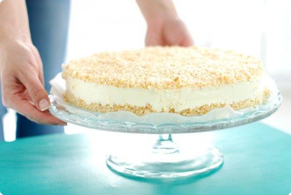 Tarta de limón sin horno ❥Teresa Restegui http://www.pinterest.com/teretegui/❥