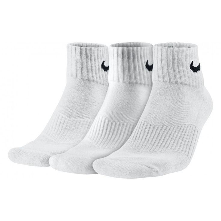Κάλτσες Nike 3PPK CUSHION QUARTER SX4703-101