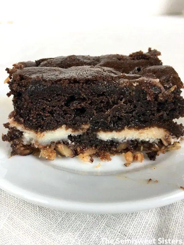 Chocolate Coconut Earthquake Cake