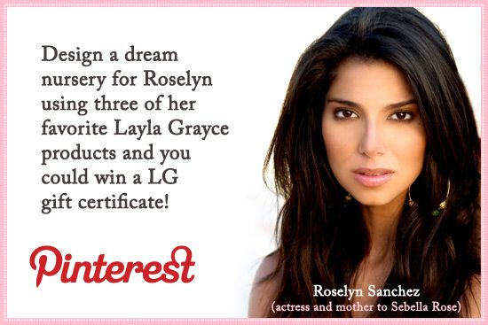 Roselyn Sanchez Nursery ContestBaby Gift