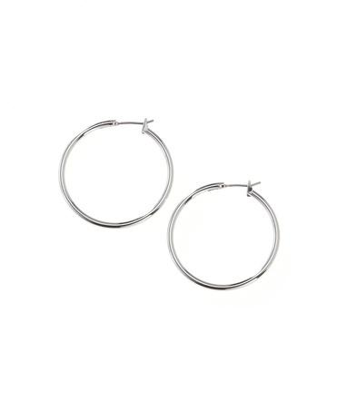 Solid hoop earrings - [K10225] $19.95 on sale for $9.99