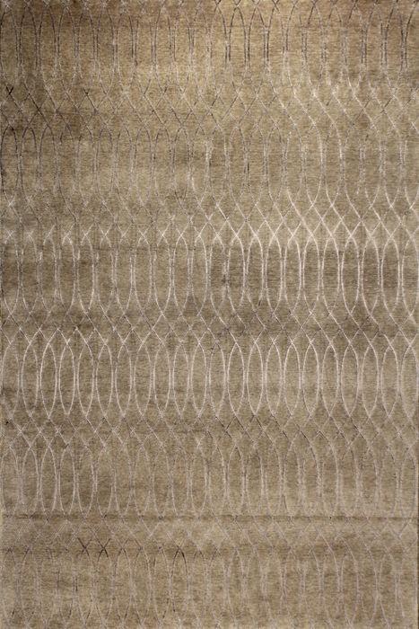 Tapis contemporain motifs en laine et soie fait main jerico edition bouga - Tapis contemporain belgique ...