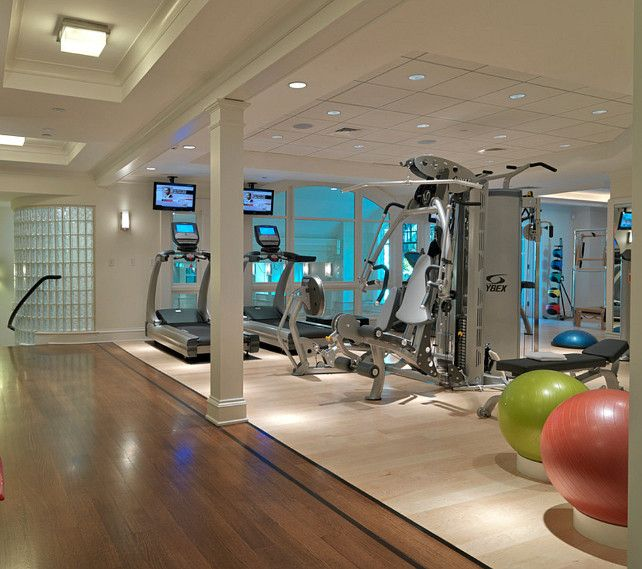 Have  a professional home gym with sauna,  whirlpool tub and a personal trainer