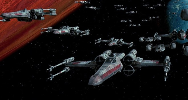 un grupo comenzo a recolectar dinero para crear un escuadron de x-wing usados por la alianza rebelde para combatir el imperio.