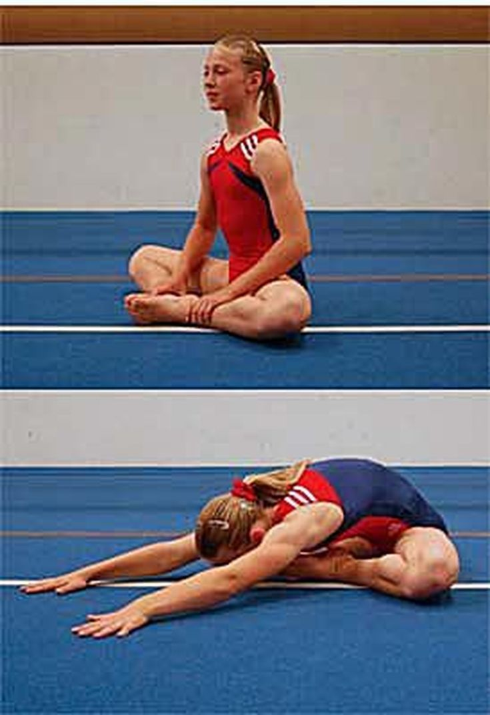 How to Do a Center Split in Gymnastics: Butterfly Stretch