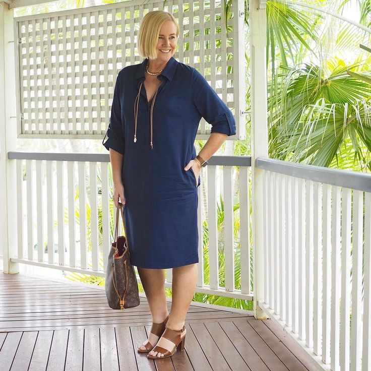 Today's #everydaystyle ... Monday meeting attire sorted thanks to this fabulous @adriftclothing shirt dress (available in the Styling You Shop - link in profile - the weight of this fabric is just right it has stretch for comfort and sits so well on the body); @adorneme lariat and @frankie4footwear NiKKi heels  Want to discover more ways to wear these pieces? Join our Ultimate Capsule Wardrobe online style program (link in profile). We'll show you how to create a 30-piece capsule that can be…