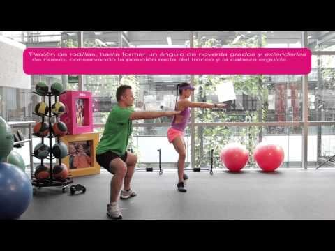 Comfama - Rutinas de ejercicios - Tren inferior - Squat