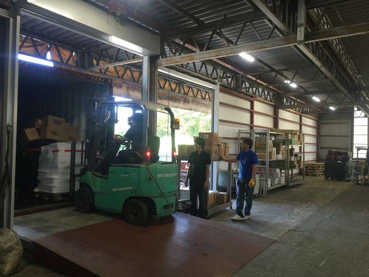 資材入荷! 先週、ヨーロッパより資材が入荷しました。前回よりクオリティをあげた入荷です。