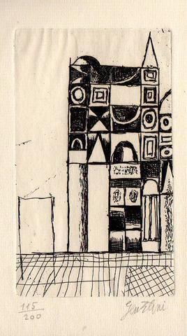 GENTILINI - De Libero Libero, Madrigali. Madrigaux. Luxembourg, Cahiers d'Origine 1967
