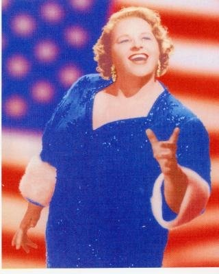 The original songstress of God Bless America....Kate Smith ! Wonderful, powerful voice!