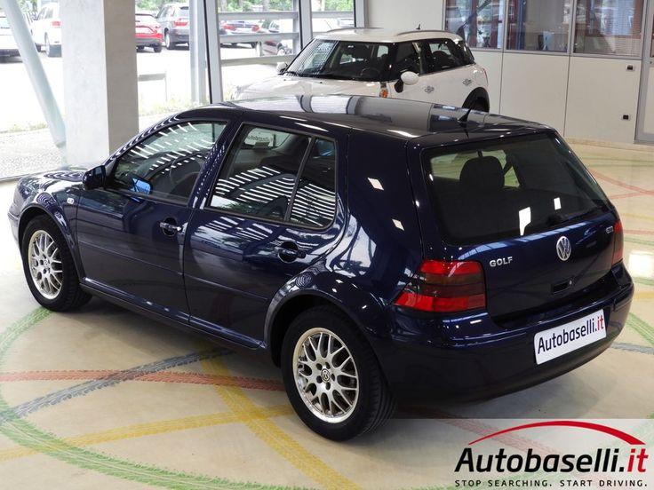VOLKSWAGEN GOLF IV 1.8 TURBO GTI 5 PORTE Climatronic + Sedili sport Recaro + Radica + Radio cd + Cerchi in lega + Servosterzo + Airbag + ABS + Fendinebbia + del 1999