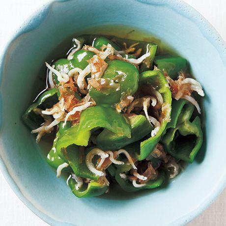 ピーマンのじゃこびたし | 伊藤晶子さんのおひたしの料理レシピ | プロの簡単料理レシピはレタスクラブニュース
