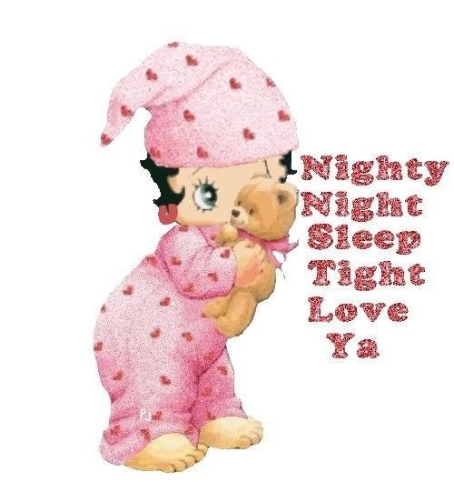 Nighty-night Baby Boop