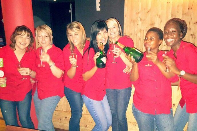 Fun @SkinDNA #fun #Christmas #Party #SkinDNA #skindnapretoria #Red