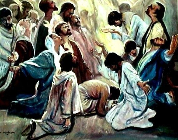 pentecost sunday gospel reading