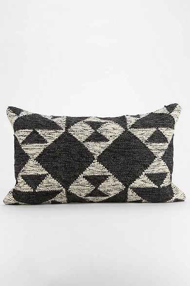Textured Diamond Pillow