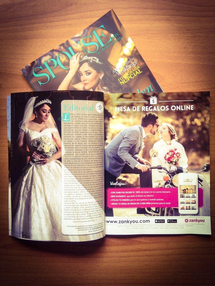 Zankyou en Revistas 2015 - Spouse