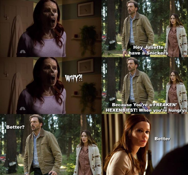 @GrimmWriters I still think Juliette just needs a Snickers. #Grimm