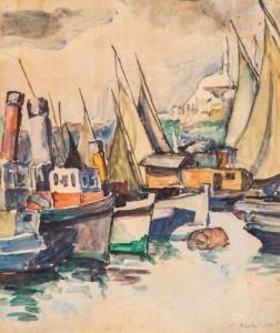 Maria I. Brates Pillat - Bărci La Marea Neagră
