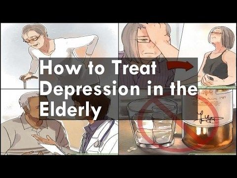 How to Treat Depression in the Elderly -   WATCH VIDEO HERE -> http://bestdepression.solutions/how-to-treat-depression-in-the-elderly/      *** depression for elderly treatment ***  How to Treat Depression in the Elderly 00:00:49 Part 1 Treating Bodily Problems 00:00:56 1 – Assess the risk of suicide 00:01:37 2 – Recognize bodily symptoms as contributing to depression 00:02:24 3 – Treat insomnia 00:03:10 4...