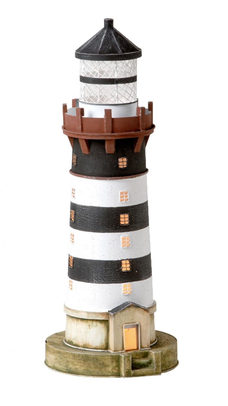 Cottage lighthouse lamp 3 colors - Lighthouse Lamp Lighthouses Beach House Nautical Lamps Ceramic