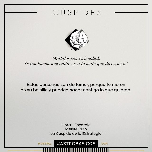Astrobasics Cuspide Libra - Escorpio